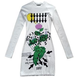 Christopher Kane white Bodycon dress