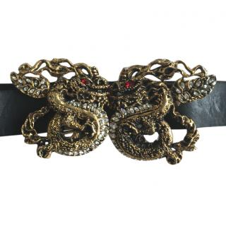 Just Cavall Dragon Detail Belt