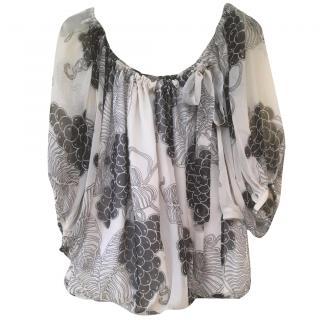 Malene Birger Silk Batwing top