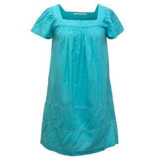 Anya Hindmarch Turquoise Beach Dress