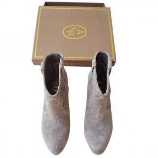 Ash Jalouse ankle boots in stone