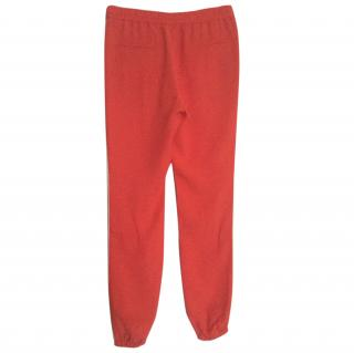 Joseph silk tracksuit bottoms