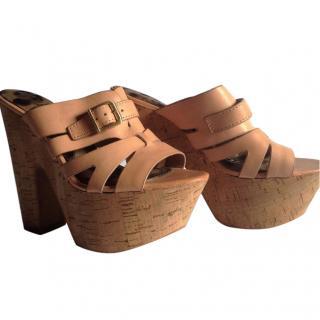 Sam Edelman Platform wedge shoe sandal