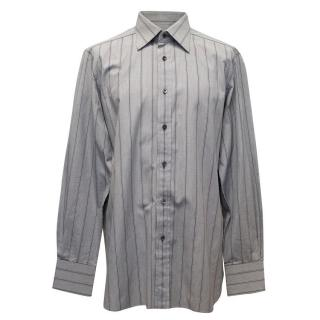 Tom Ford Black and White Dress Shirt