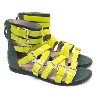 Vivienne Westwood Lime Green Sandals