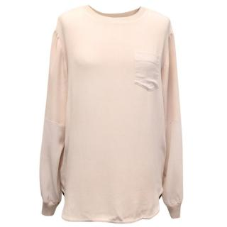 Joseph Faded Pink Sweatshirt