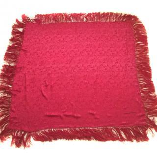 Ungaro For Liberty Fringed Silk Wrap