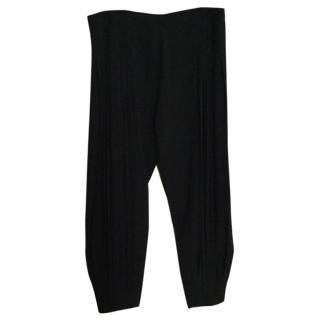 Kenzo pleated wide leg trousers