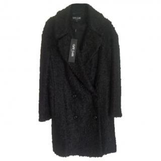 Ozzie Clark black winter coat