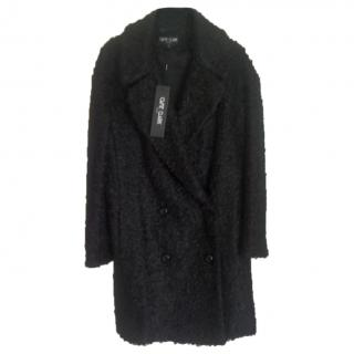 Ozzie Clark black winter coat