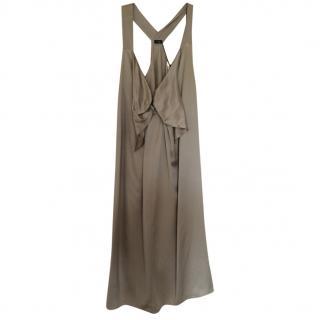 Joseph size 12 new satin dress