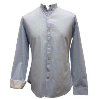 Paul Smith Jeans Men's  Blue Check Shirt