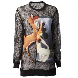 Givenchy lace  Bambi sweatshirt