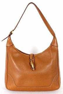 Hermes Gold Courchevel Leather 31cm TRIM II Shoulder Bag