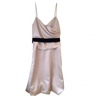 Vera Wang champagne cocktail dress size 12
