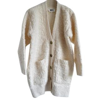 Maison Martin Margiela MM6 wool-boucl� cardigan