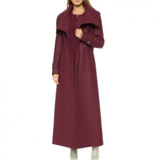 Alice by Temperley London, Women's Red Esen Coat, Dark Crimson (RPP �1789)