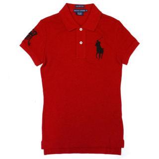 Ralph Lauren Red Polo