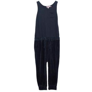 Juicy Couture Girls Navy Jumpsuit