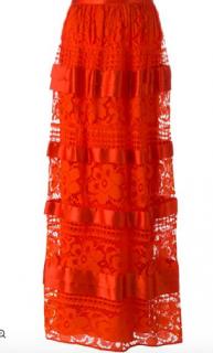 Temperley London, River Lace Long Skirt  (RPP �1110)