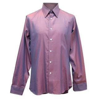 Richard James Lilac Metallic Shirt