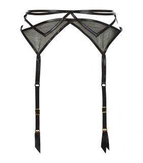 Agent Provocateur Jet Suspender Belt in Black UK Size 12 to 14