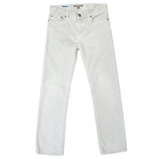 Bonpoint Kids Grey Drainpipe Jeans
