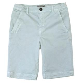 Bonpoint Kids Light Blue Chino Shorts