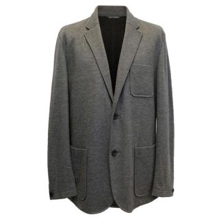 Richard James Grey Relaxed Cashmere Jacket