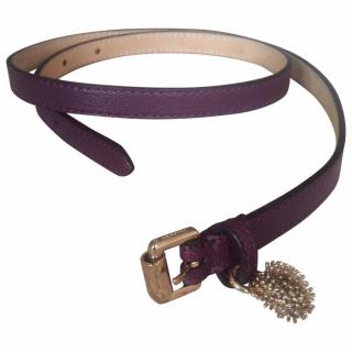 Mulberry leather belt