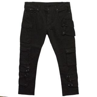 Ralph Lauren Black Men's Pocket Detail Trousers