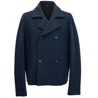 Jil Sander Double Breasted Navy Jacket