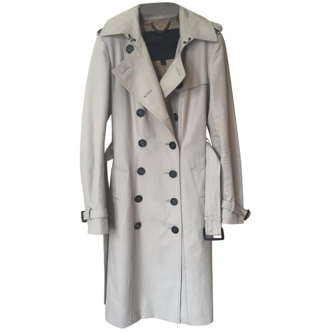 Burberry Prorsum Long Trench Coat