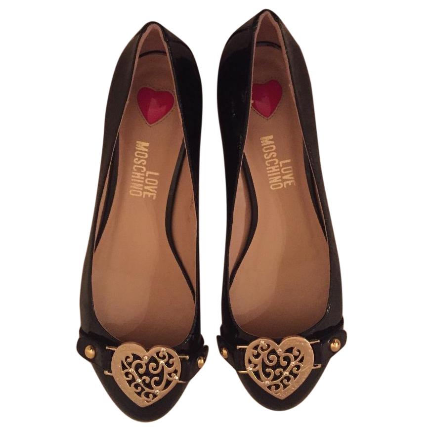 low priced 7d879 79a17 Love Moschino Ballerina flats