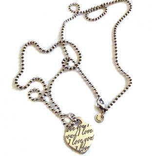 Tiffany & Co Silver chain and heart charm