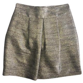 Etro Gold Shimmer Skirt