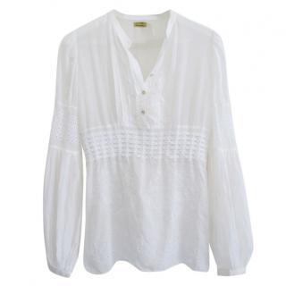 MAX STUDIO Special Edition white blouse