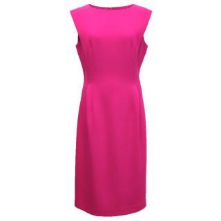Michael Kors Bright pink pencil dress