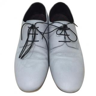 Pollini Men's Light Blue Shoes