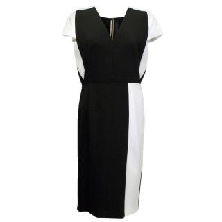 Roland Mouret black and white pencil dress