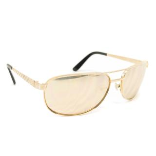 Fred 'Sicile Prestige' 20th Annivesary Limited edition gold Sunglasses