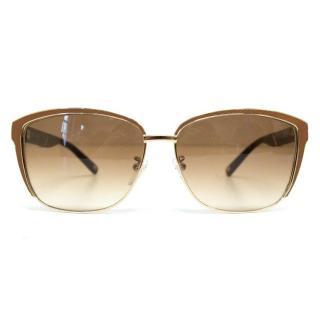 'SES 833V'  Escada tortoise brown sunglasses