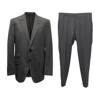 Tom Ford  Black suit with white pin stripes