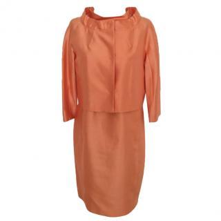MaxMara Studio orange dress suit