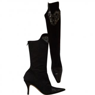 Couture Jimmy Choo Boots made by Jimmy Choo himself