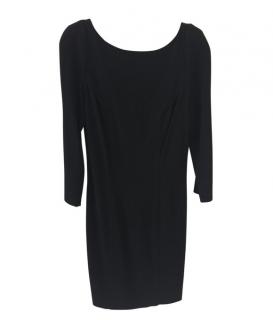 DVF Black Zip Back Dress