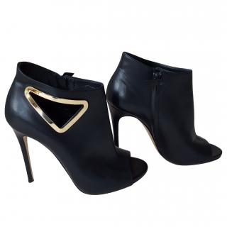 Casadei ankle cut out boots