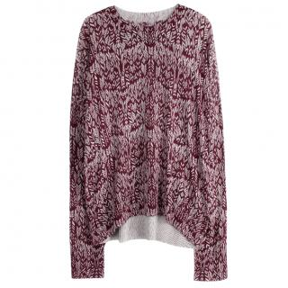 Zadig and Voltaire print sweater