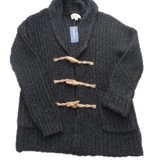 Ralph Lauren Togggle shawl cardigan