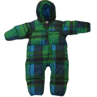 Columbia 18m Blue and Green Snow Suit